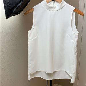 Zara white top.